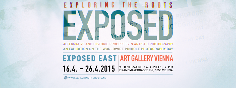 Flyer exhibition exposed at THE ART GALLERY Vienna