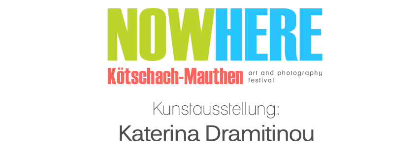 Flyer Vernissage Katerina Dramitinou Festival NowHere
