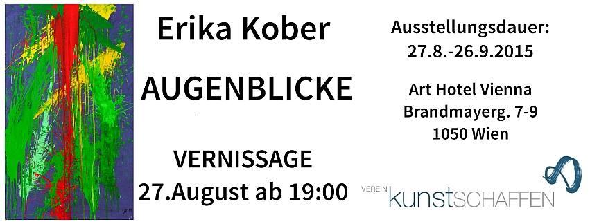 Kunstschaffen Vernissage Erika Kober