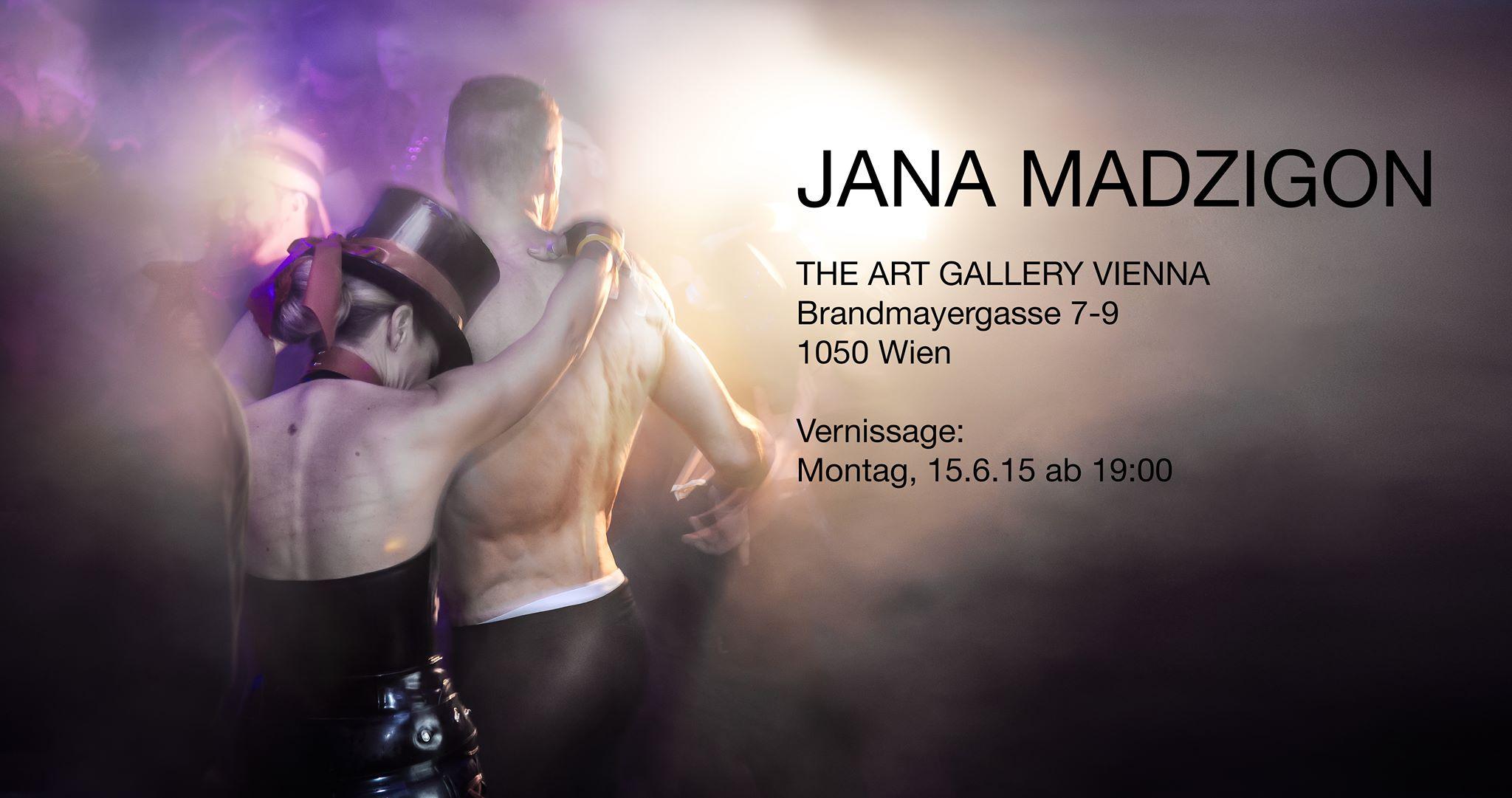 Kunstschaffen Ausstellung Jana Madzigon