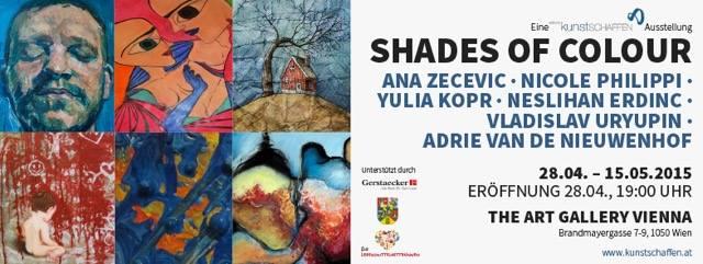 Kunstschaffen Ausstellung Shades of Colour